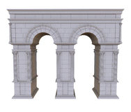 Architectural arch Royalty Free Stock Photography