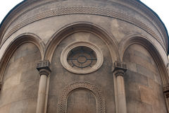 Architectural arch in the old church building.  Stock Images