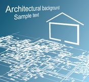 Architectural background. Royalty Free Stock Photography