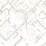 Architectural background vector illustration