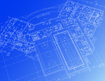 Architectural background. Stock Photo