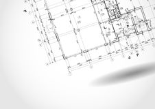 Architectural Background. Architectural Background Sketch. Vector Illustration. Eps 10 Stock Photography