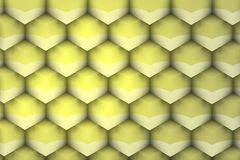 Metalic and yellowish geometric texture. vector illustration