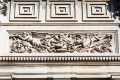 Architectural bas relief Royalty Free Stock Image