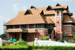 Architectural beauty of Napier Museum, India Royalty Free Stock Photos