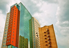 Architectural blend Stock Image