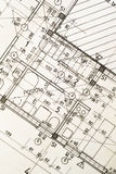 Architectural blueprint Stock Photo