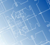 Architectural Blueprint Royalty Free Stock Photography