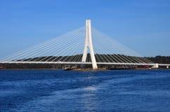 Architectural bridge algarve stock photos