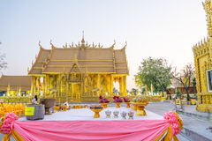 Architectural Buddhist temple in Thailand Stock Photo