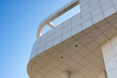 Architectural building. Abstract view of architectural building Royalty Free Stock Image