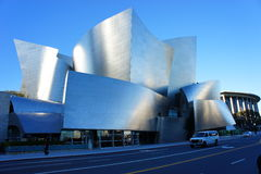 Walt Disney Auditorium. One of the most beautiful architectural building in the world, The Walt Disney Auditorium in Los Angeles, CA Stock Images