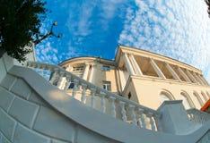 The architectural building in Sevastopol. Stock Image