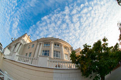 The architectural building in Sevastopol. Stock Photos