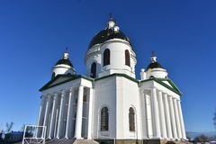 Architectural building of the temple Cathedral Stock Image