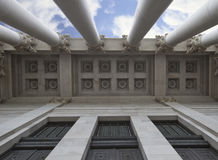 Architectural Ceiling of Capital Building Stock Images