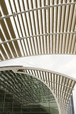 Architectural Ceiling Structure Perspective Stock Image