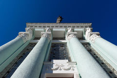 Architectural classic columns Royalty Free Stock Photo