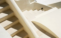 Architectural Closeup. Detail of various architectural elements with a staircase as a major object Royalty Free Stock Images