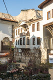Architectural clutter Stary Melnik in Bulgaria Stock Photos