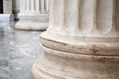 Architectural column details. Stock Photography