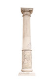 Architectural column isolated on a white background Royalty Free Stock Image