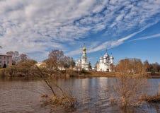 Architectural complex in Vologda Stock Image
