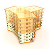 Architectural concept Stock Images
