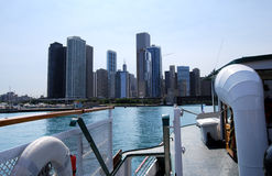 Architectural Cruise, Chicago Stock Photos