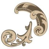 ` Architectural de détail de ` de décor Image stock
