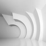 Architectural Design. 3d Illustration of White Abstract Architectural Design vector illustration