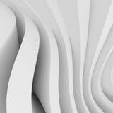 Architectural Design. 3d Illustration of White Abstract Architectural Design royalty free illustration