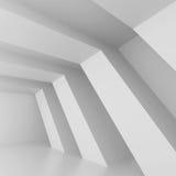 Architectural Design. 3d Illustration of White Futuristic Architectural Design stock illustration