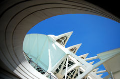 Architectural detail. Of a modern building stock images