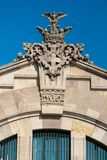 Architectural detail in Barcelona, Spain Stock Photography