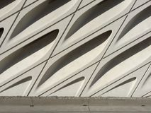 Architectural Detail - The Broad Muesum Stock Image