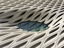 Architectural Detail - The Broad Muesum Stock Photos