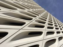 Architectural Detail - The Broad Muesum Royalty Free Stock Photos