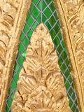 Architectural detail in a Buddhist temple Royalty Free Stock Photography