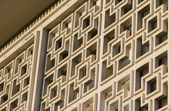 Architectural detail of building facade Stock Image