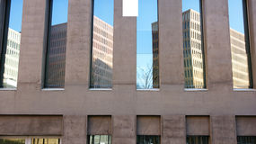Architectural detail of the buildings of the City of Justice Royalty Free Stock Photos