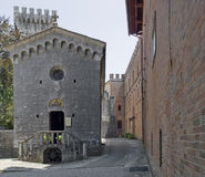 Castle of Brolio Stock Photo
