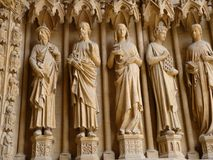 Architectural Detail of Cathedral royalty free stock photos