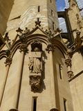 Architectural Detail of Cathedral stock photos