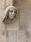 Architectural detail of the Cathedral of Burgos Royalty Free Stock Photos