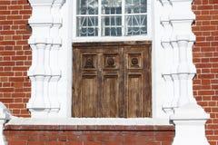 Architectural detail Church,  Novosibirsk region, Russia Royalty Free Stock Photos