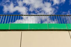 Architectural detail in the city. Royalty Free Stock Photography