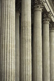 Architectural detail - columns of the Corinthian order Royalty Free Stock Photography