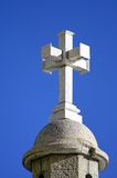 Architectural detail: Cross on cupola Stock Photos