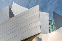 Architectural Detail of Disney Concert Hall in Los Angeles, California Stock Photography